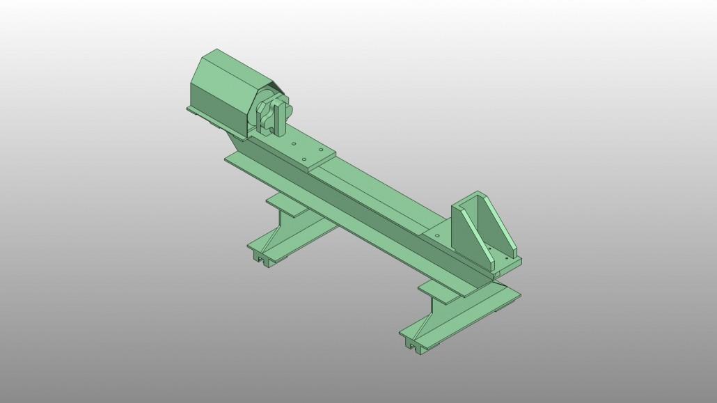 Gantry Crane in STL Format
