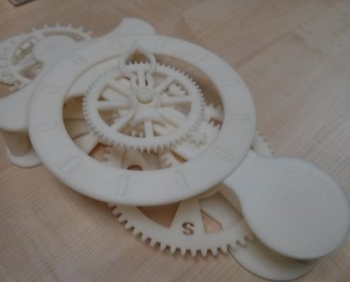 RMD - 3D Printed Clock (Side)