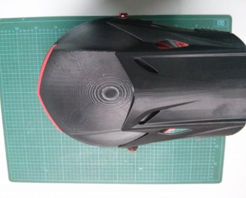 3D Printed Motorcross Helmet - Top