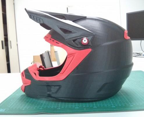 3D Printed Motorcross Helmet - Side