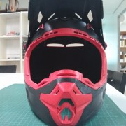 3D Printed Motorcross Helmet - Front