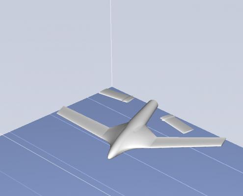 3D Printed Aeroplane STL - Print 2