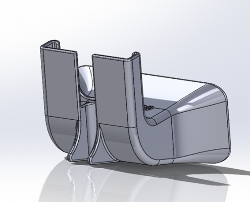 3D Printed iPhone Amplifier_CAD_Back