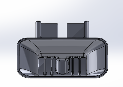 3D Printed iPhone Amplifier_CAD_Front
