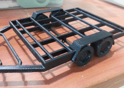 3D Printed Mobile Kiosk - Trolley 2
