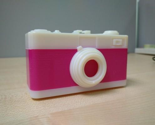 3D Printed Pinhole Camera Side View